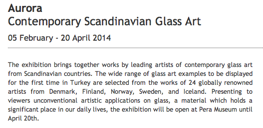 Aurora – Contemporary Scandinavian Glass Art
